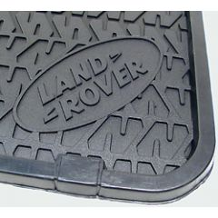 RTC8099 - Defender Middle Row Rubber Mat Set - Genuine Land Rover (FOR 110 VEHICLES FROM 1984-1998)