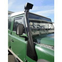 SLRDEF5 - Defender 300TDI & TD5 Snorkel - The Stylish 2 Piece Poyurethene Snorkel by LRParts - Will fit All 300TDI and TD5 Right Hand Drive Defender