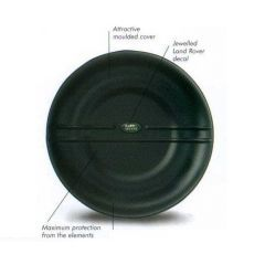 STC50043 - Genuine Land Rover Wheel Cover - With Small Green Oval Logo - Fits 255 x 18 Tyres