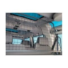 STC50323 - Mesh Style Dog Guard In Grey (Half Length) - For Discovery 2 (TD5)