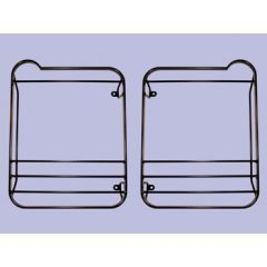 STC53158 - Rear Hinged Lamp Guard Kit - For Defender