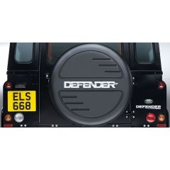 STC7889 - Genuine Defender Wheel Cover - Hard Plastic Moulded - Fits Most Tyre Sizes