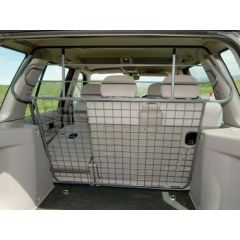 STC7939AB - Freelander 1 Bar Style Dog Guard In Grey (Full Length) - Oem Equipment