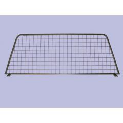 STC8414 - Mesh Style Dog Guard In Grey (Half Length) - For Discovery 1