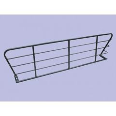 STC8524 - Tubular Style Dog Guard In Grey (Half Length) - For Range Rover P38