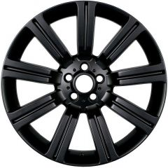 STORM-MBK - Stormer Alloy Wheel in Matt Black - 20 X 9.5 - For Range Rover Sport, Range Rover L322 and Discovery 3 & 4