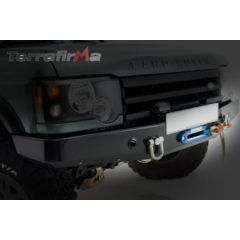 TF009 - Discovery 2 (98-2004) Winch Bumper - With Swivel Recovery Point And Bottle Guard
