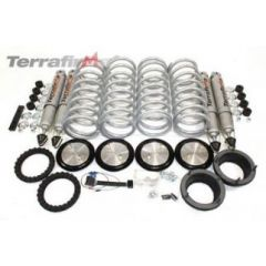 "TF223HD - Terrafirma Spring Conversion for Range Rover P38 - Plus 1"" Lift - Heavy Duty - plus All Terrain Shock Absorbers"