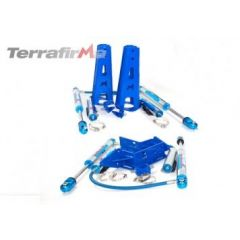 """TF237 - Terrafirma Mega Sport Plus 9"""" Travel Shocks and Mounting Kit - For Defender, Discovery 1 and Range Rover Classic"""