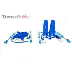 """TF238 - Terrafirma Mega Sport Plus 11"""" Travel Shocks and Mounting Kit - For Defender, Discovery 1 and Range Rover Classic"""