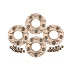 LR-WS - Aluminium 30mm Wheel Spacers With Nuts By Lr Parts - For Defender, Discovery 1 and Range Rover Classic