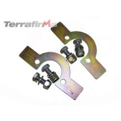 TF505 - Terrafirma Front Coil Spring Retaining Plates - For Defender, Discovery 1 and Range Rover Classic