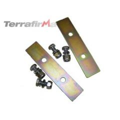 TF506 - Terrafirma Rear Coil Spring Retaining Plates - For Defender 90, Discovery 1, Range Rover Classic and Discovery 2 with Rear Coil Springs
