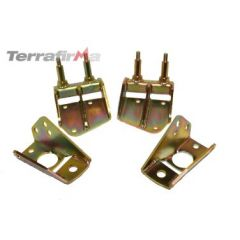 TF513 - Terrafirma Rear Twin Shock Mount Kit - Defender, Discovery 1 and Range Rover Classic
