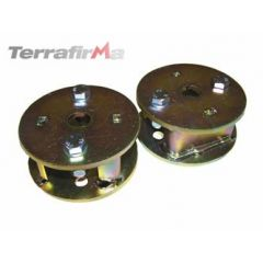 "TF517 - Terrafirma Rear 2  Spring Spacers - Lift Your Axle 2"" - Defender, Discovery 1, Range Rover Classic and Discovery 2 with Coil Springs"