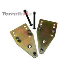 TF518 - Terrafirma Rear Top Shock Mount Re-Locators - Defender, Discovery 1 and Range Rover Classic
