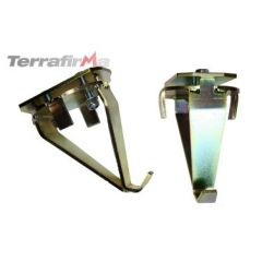 TF520 - Terrafirma Long Travel Rear Coil Spring Re-Locators - Defender 90, Discovery 1 and Range Rover Classic