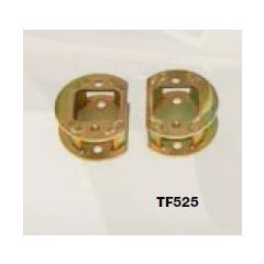 "TF525 - Terrafirma Front 2  Spring Spacers - Lift Your Axle 2"" - For Discovery 2"