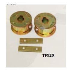 """TF526 - Terrafirma Rear 2  Spring Spacers - Lift Your Axle 2"""" - For Discovery 2 with Air Springs"""