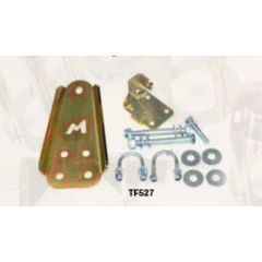 TF527 - Terrafirma Steering Damper Relocation Kit - Keeps your Discovery 1 / Range Rover Classic Damper Out of Harm's Way