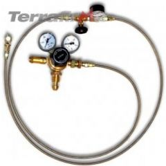 """TF141 - Terrafirma Air Shock Absorber - Huge 16"""" Travel - Competition and Rock Crawling - For Defender, Discovery 1 and Range Rover Classic"""
