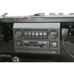 TFIGDBB - Iron Goat Defender Dash Centre Console in Black