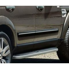 VPLAP0288 - Genuine Land Rover Side Moulding in Black with Chrome Insert for Discovery 3 and 4