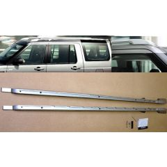 VPLAR0075 - Discovery 3 And 4 Genuine Style Extended Roof Rails In Bright Silver