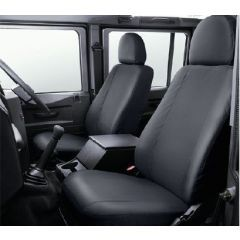 VPLDS0011 - Defender Front Seat Covers in Black - 2007 Onwards - Genuine Land Rover Item
