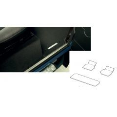 VPLDS0241 - Defender 110 Front and Rear Carpet Mat Set - Genuine Land Rover (FOR VEHICLES FROM 2012)