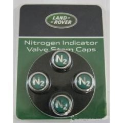 VPLFW0076 - Premium Dust Cap Covers - Set Of Four With N2 Nitrogen Indicator Cap