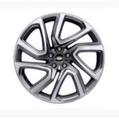 VPLRW0117 - Discovery 5 Style '5025' Wheel with 5 Split Spoke Design - Genuine Land Rover - 22 inch with Machine Polished Finish
