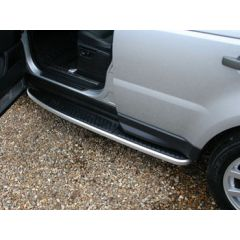 VTK500020 - Premium Range Rover Sport Side Steps With Anti-Slip Top And Aluminium Sides With Pre-Cut Side Sills - Comes as a Pair of Steps