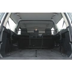 VUB501170 - Genuine Land Rover Dog Guard - Full Length Guard - For Discovery 3 and Discovery 4 - Mesh Style Dog Guard