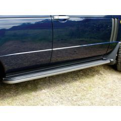 VUB503660 - Range Rover Vogue Side Steps - Include Front Mudflaps And Hard Plastic Trimming - For All Range Rover L322