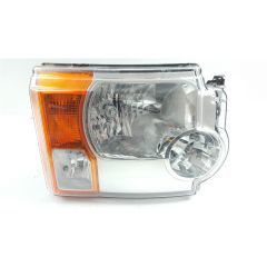 XBC500022 - Left Hand Headlamp for Discovery 3 - Halogen - for RHD Vehicles with Air Suspension