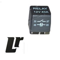 YWB10027L - YWB10027L - Relay Unit for Defender, Discovery 1 & 2 and Range Rover Classic - Multiple Use Land Rover Yellow Relay
