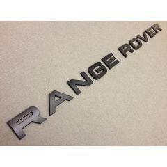 RRL506MAT - Matte Black Lettering - RANGE ROVER (For Bonnet or Tailgate)