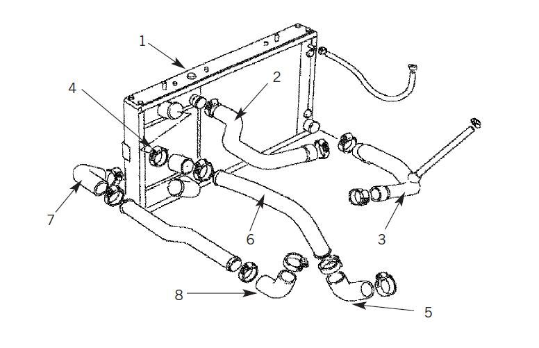 Land Rover Engine Cooling Diagram  Land Rover Oem 10 13 Lr4 Cooling System Water Outlet  Land
