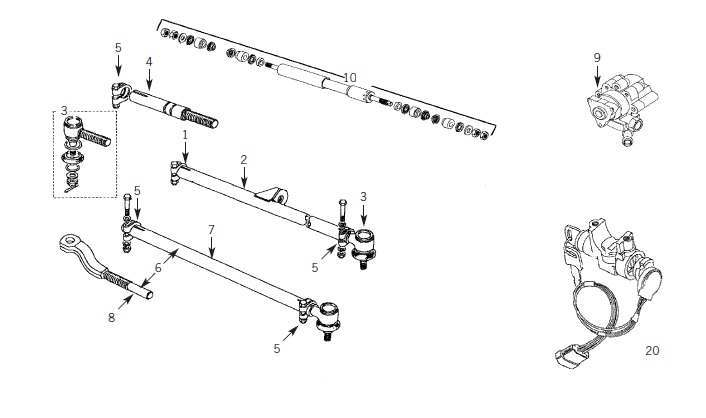 221825977621 moreover Parts Illustrations together with Defender Steering System Includes Steering D er Drag Link Track Rod Track Rod Ends And Power Steering Pumps 13471 likewise How Swaybars Work moreover P 0900c152801bf69d. on steering link