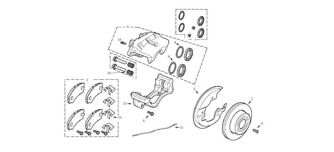 2012 land rover range rover rear caliper seal change